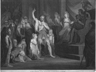 Caractacus at the Tribunal of Claudius