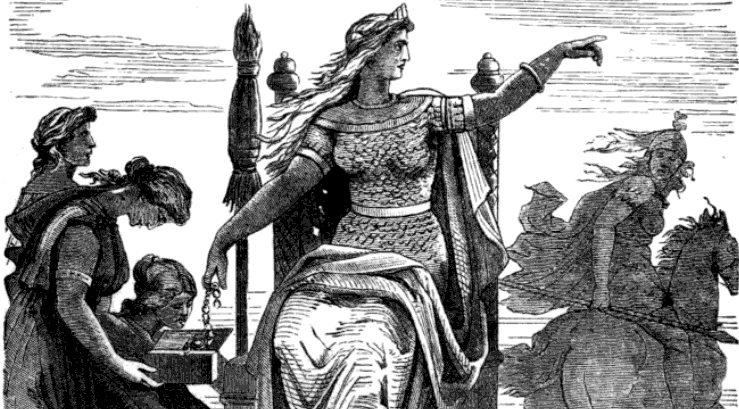 Divinity - Frigga and her hand-maidens